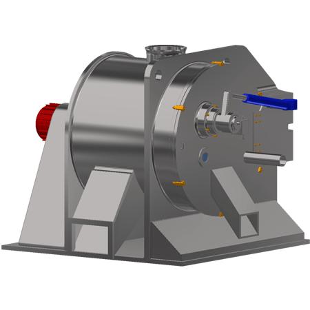 Горизонтальная центрифуга